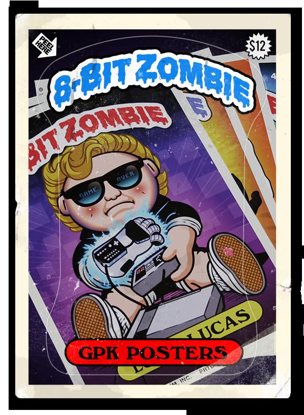 8-bit ZOMBIE — GPK Poster Set