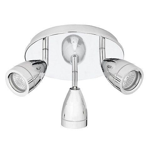 Buy John Lewis Blake Bathroom Spotlight Chrome 3 Light Online at johnlewis .com  sc 1 st  Pinterest & John Lewis Blake Bathroom Spotlight Chrome 3 Light | Bathroom ...