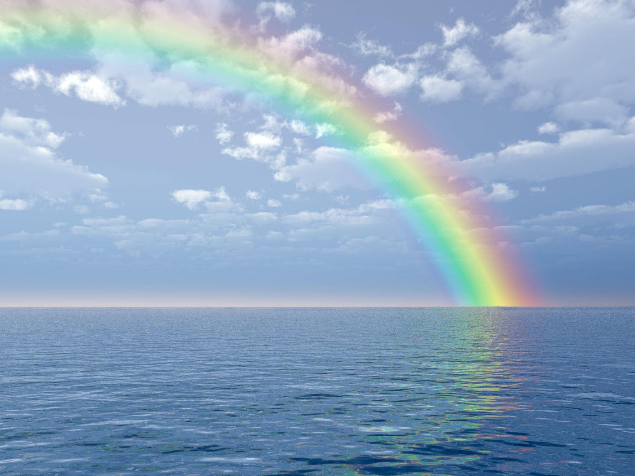 Rainbow Backgrounds For Widescreen Free Nature Photography Rainbow Background Ocean Surf