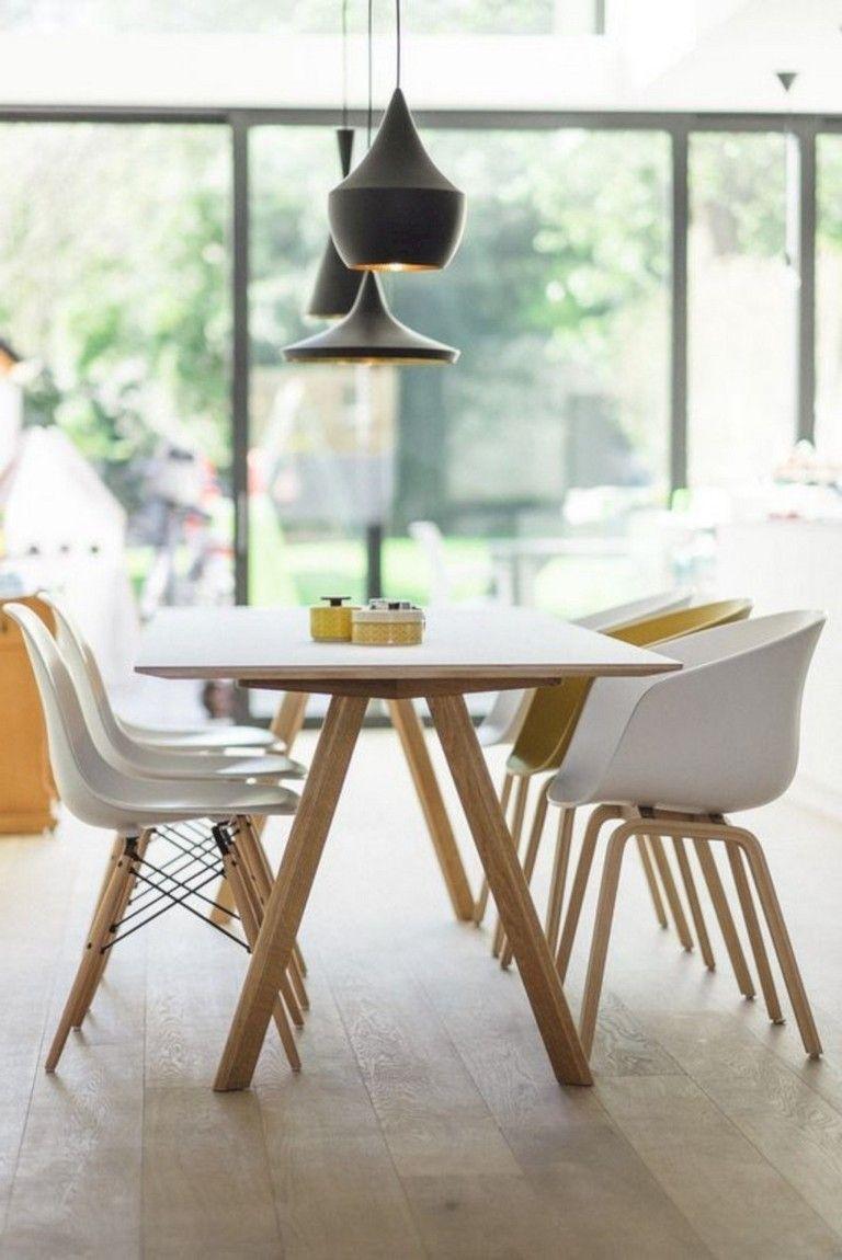 36 Admirable Scandinavian Dining Room Design Ideas Scandinavian