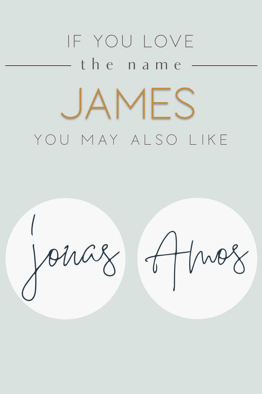 Baby Name James Alternatives Popular Baby Boy Names Baby Names Popular Baby Names