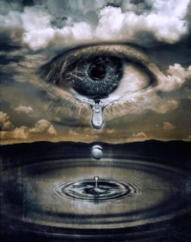 Eye Of The Storm In 2021 Surreal Art Eye Art Crying Eyes