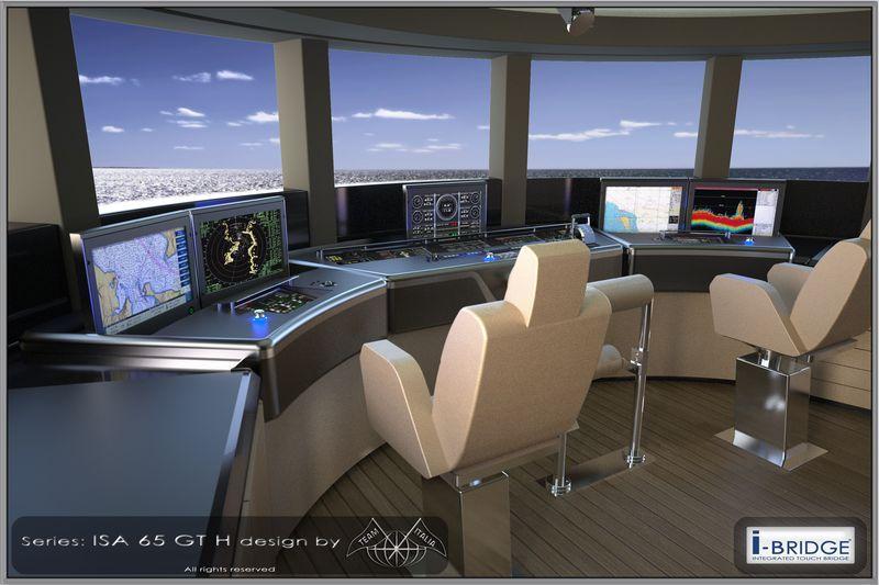design Yacht bridge