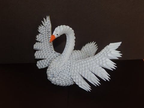How To Make 3d Origami Swan Model7 Part2