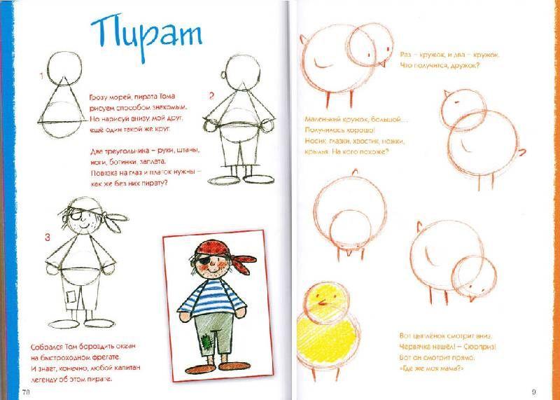 Скачать бесплатно книги по рисованию для детей