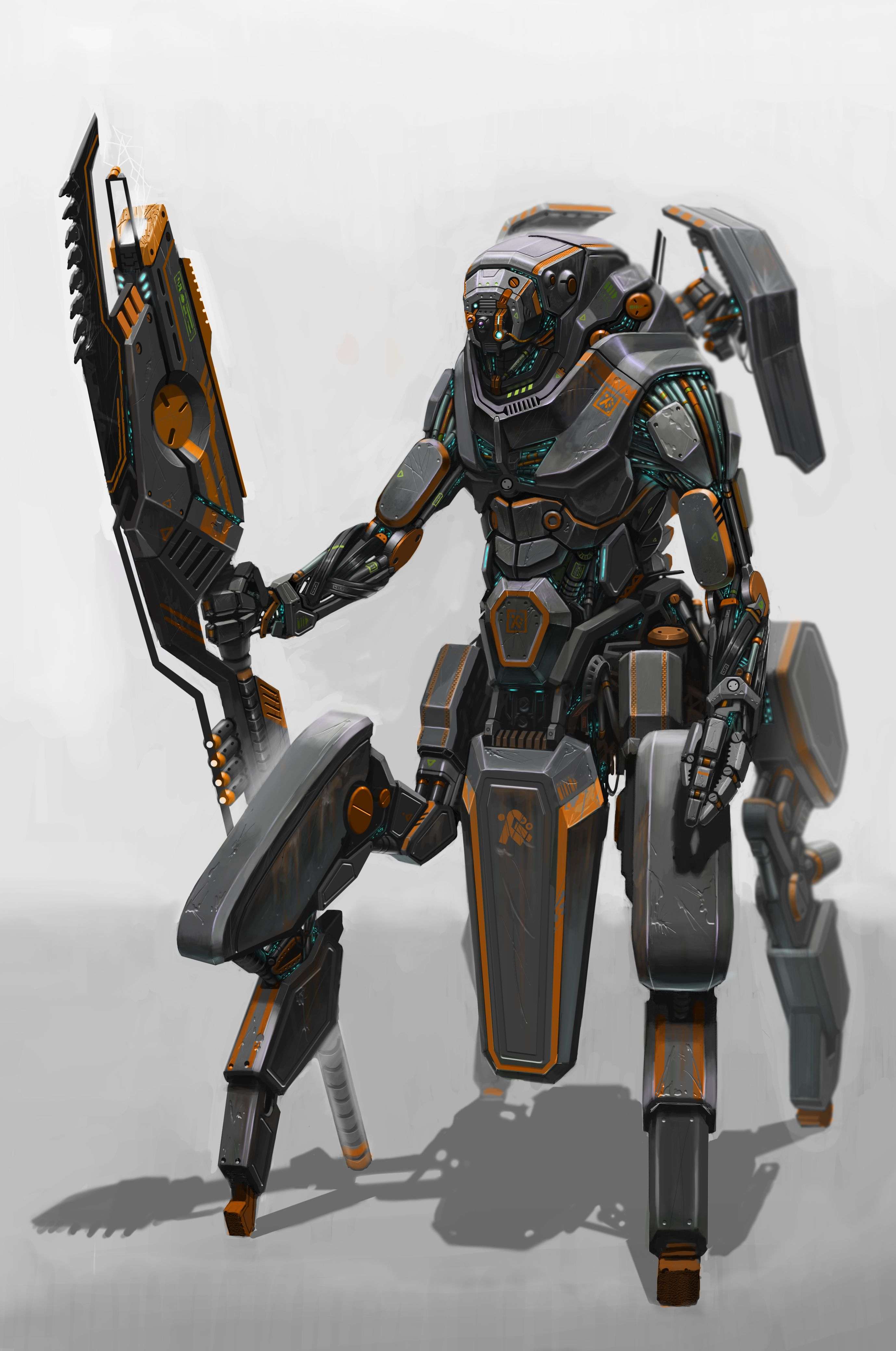 Pin By Jay Oh On Mech In 2019 Robot Concept Art