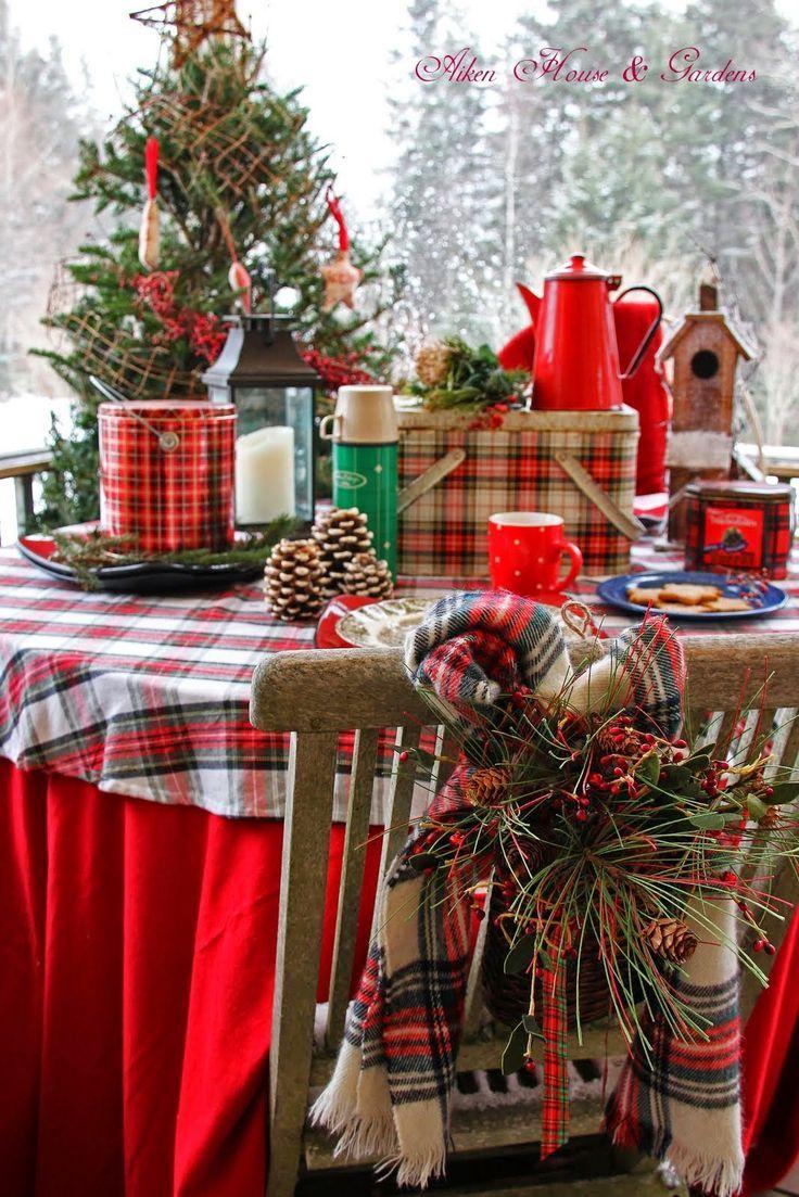 PLAID CHRISTMAS | I wish it was Christmas today! | Pinterest ...