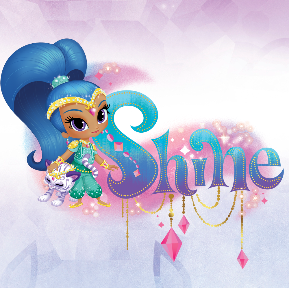 Shine is courageous and confident with plenty of words of ...