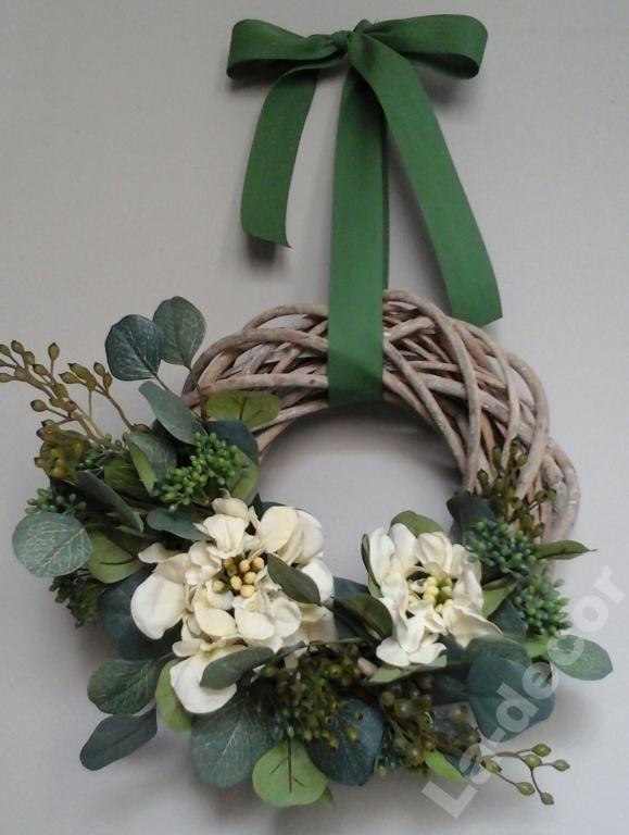 Wianek Wiosenny Na Drzwi Wiklinowy Kwiaty Sztuczne 5140784667 Oficjalne Archiwum Allegro Event Decor Paper Flowers Chair Decorations