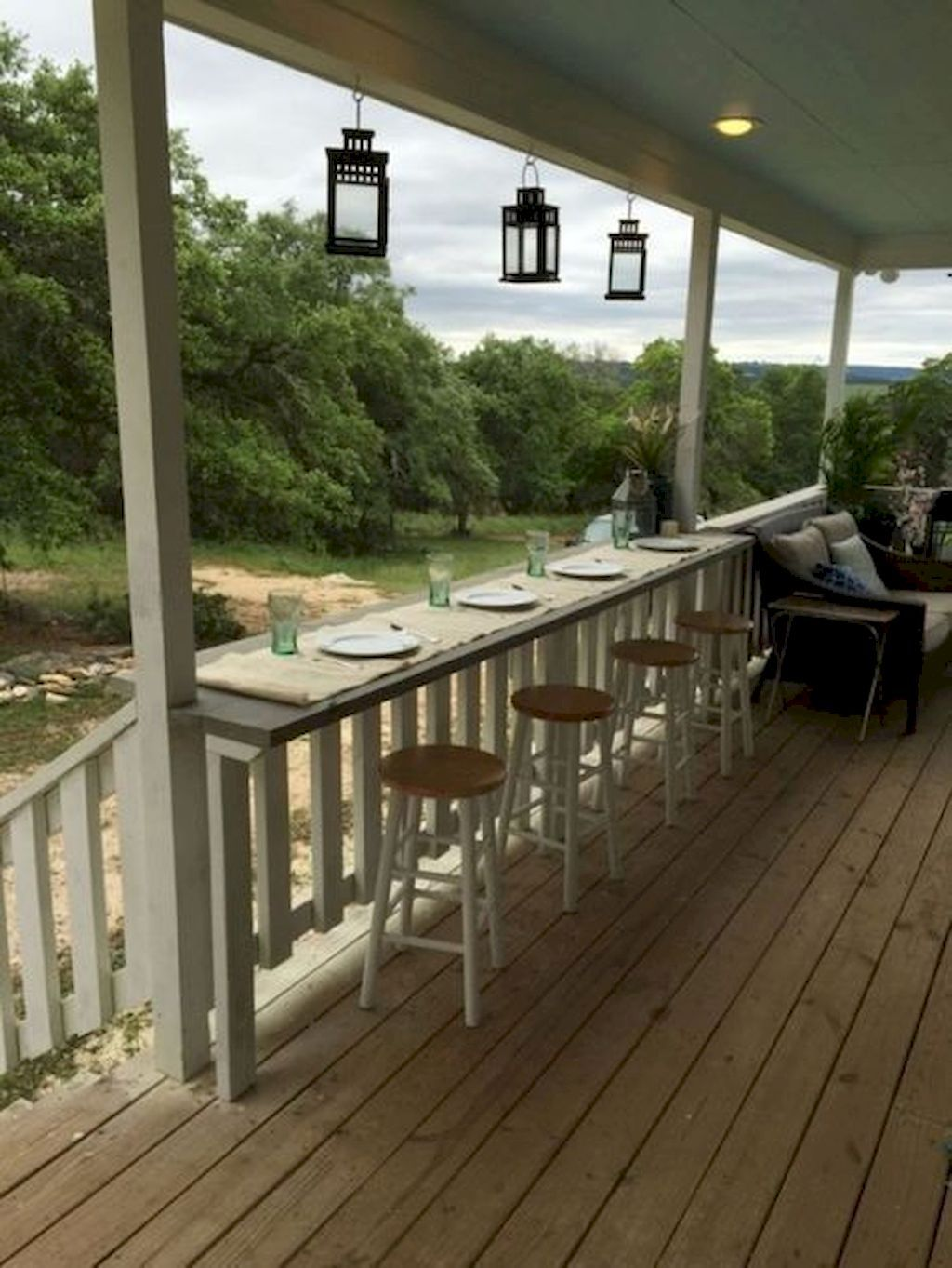 Nice 60 Amazing Farmhouse Porch Decor Ideas Decorapatio 2018