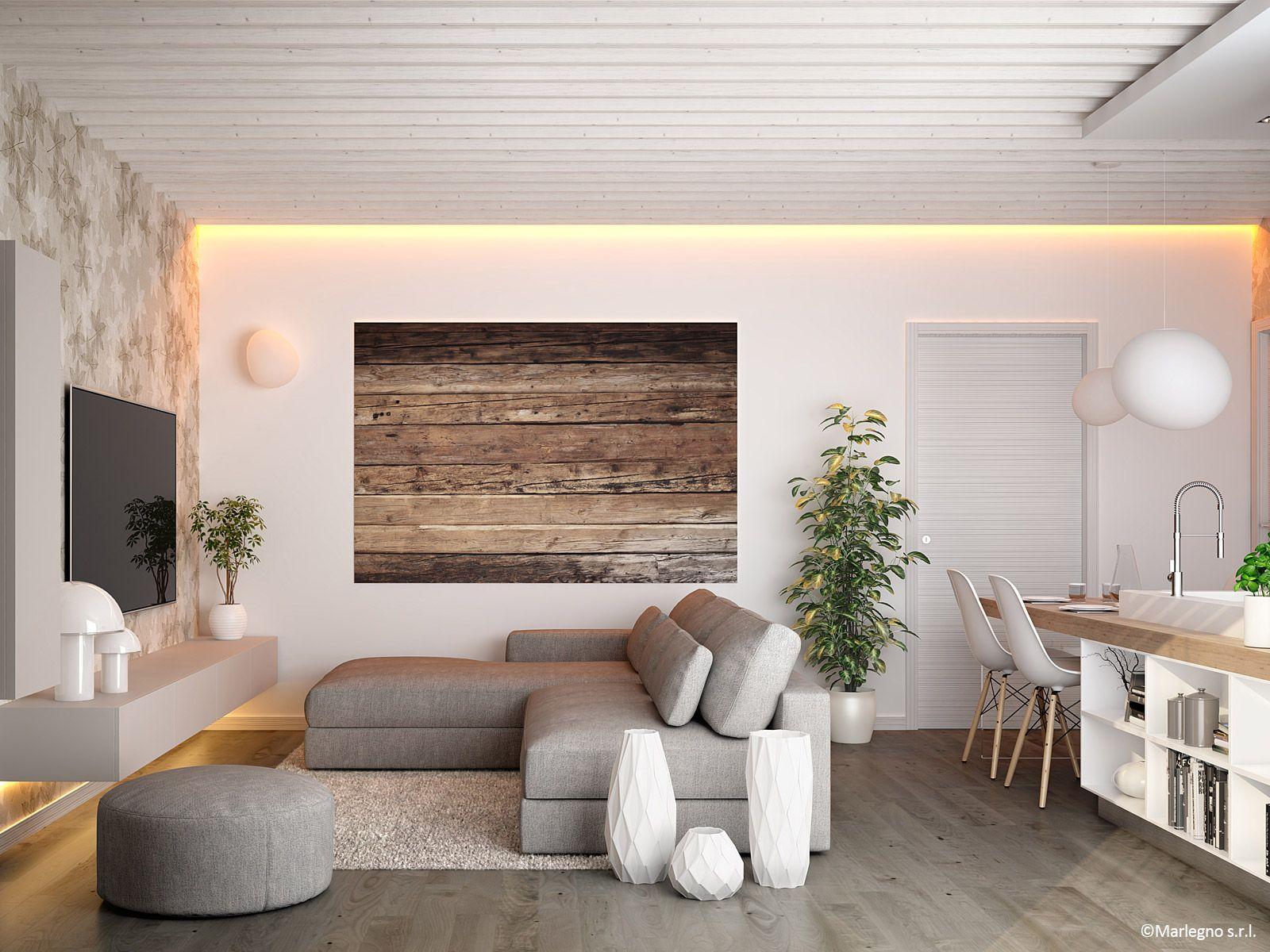Soffitti In Legno Moderni : Soffitti in legno bianco soffitti in legno bianco with