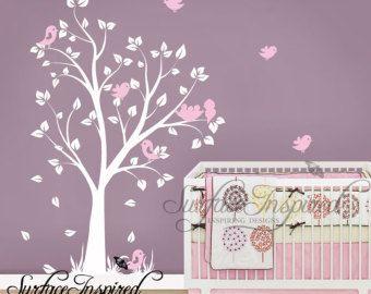 Kinderzimmer Wandtattoo Baby Garten Baum Wandtattoo Fur Jungen Und
