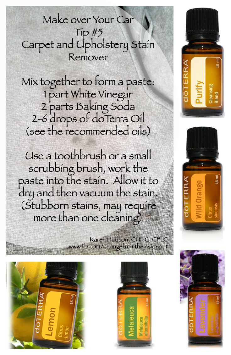Using Some Amazing Doterra Oils With Baking Soda And White Vinegar You Got Yourself A Stain Remover That Is Chemicalfree Naturalings