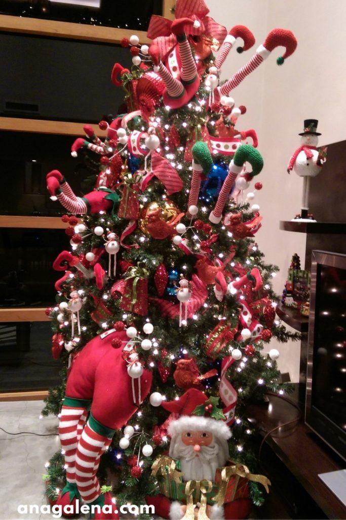 40 ideas para decorar tu rbol de navidad navidad - Decoracion arboles navidenos ...