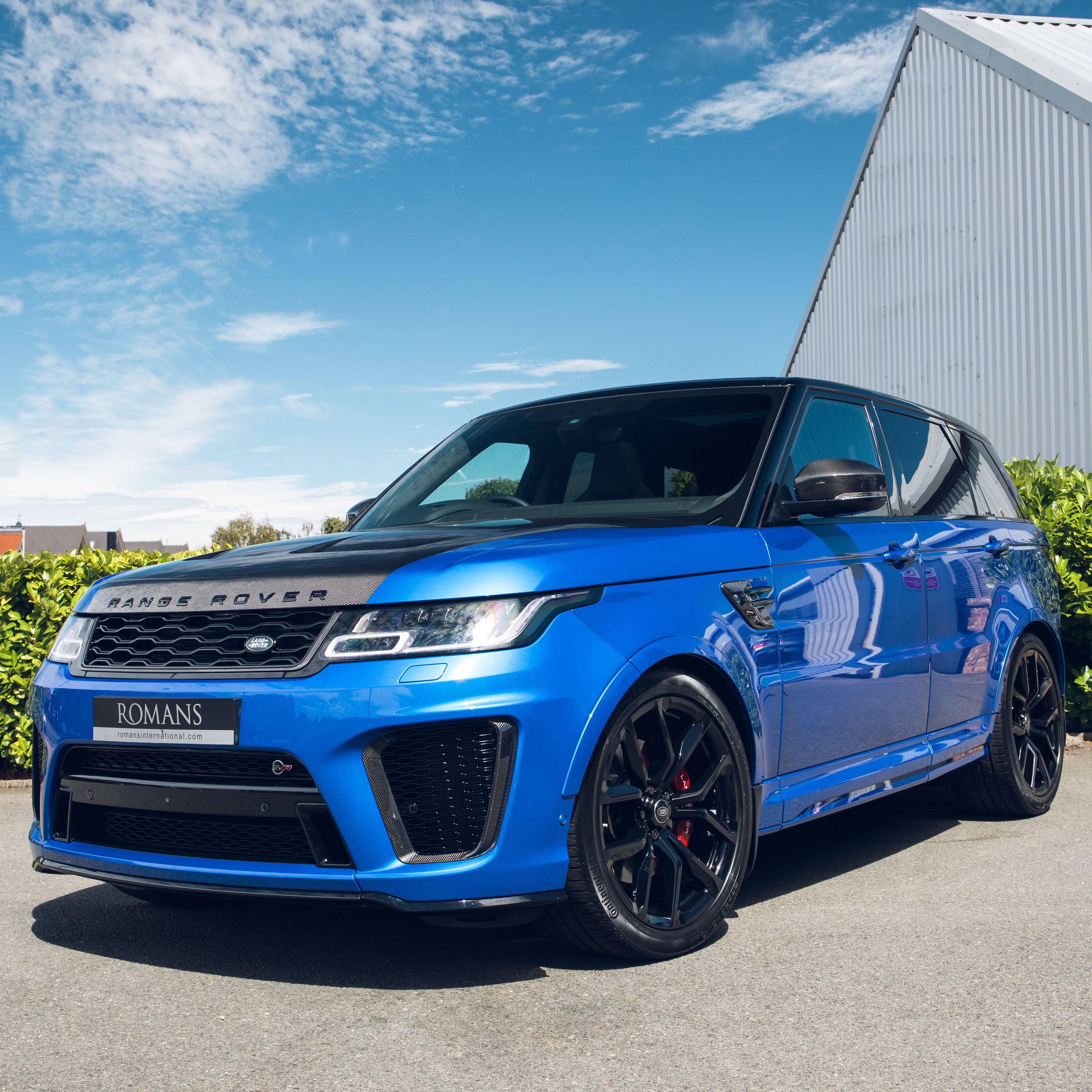 Range Rover Sport SVR in 2020 All black range rover