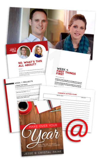 Get Make Over Your Year Goal-Setting Course for Just $25!