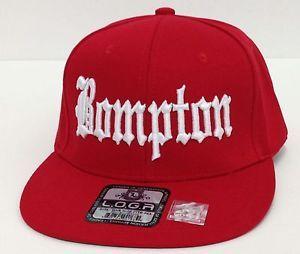 a02d5202a74 Bompton compton 3d embroidered flat bill snapback baseball cap hat ...