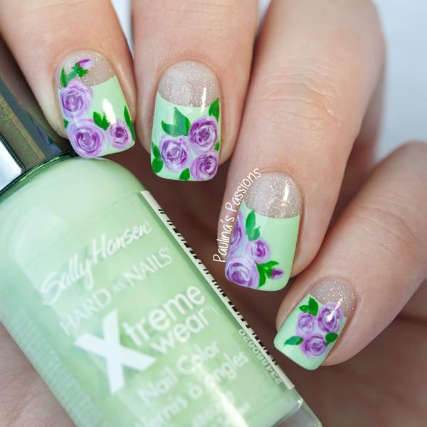 DIY Cupcake Holders | Uñas con flores, Uñas lindas y Diseños de uñas