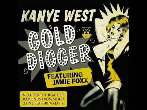Kanye West Feat Jamie Foxx Gold Digger Hq Kanye West Steampunk Jewelry Diy Gold Bracelets Stacked
