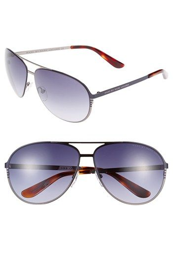 8f6327b1ff Men s Marc by Marc Jacobs 62mm Aviator Sunglasses - Ruthenium ...