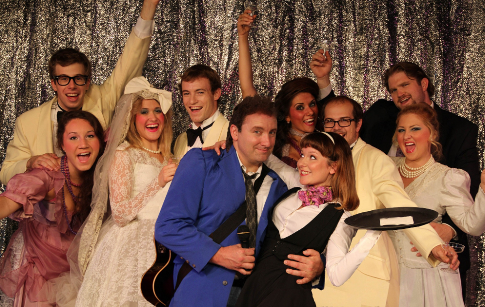 Barn Theatre cast for 'The Wedding Singer' gets a history