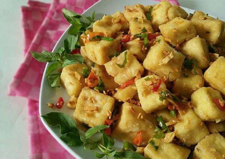 Resep Tahu Crispy Bawang Cabe Oleh Dapurvy Resep Memasak Resep Tahu Makanan