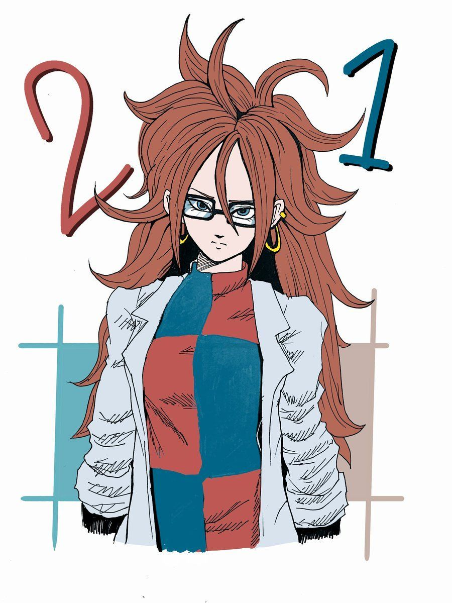 Android 21 from dragon ball fighter z dbz pinterest - Dragon ball z 21 ...