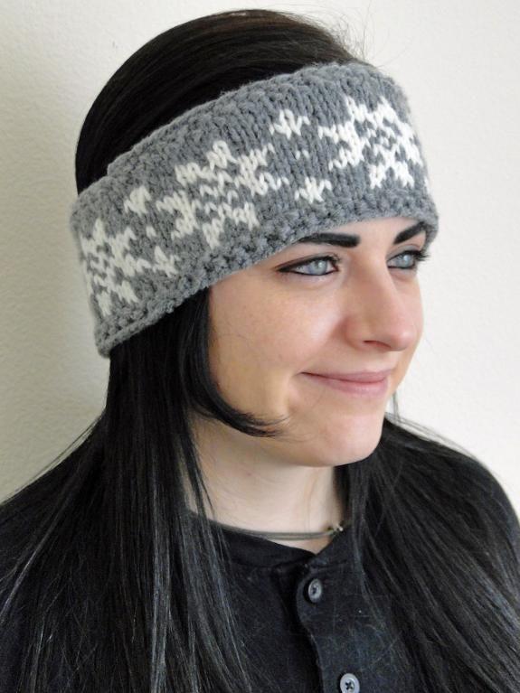 Knit Fair Isle Heraldic Headband | Fair isles, Needlepoint and ...