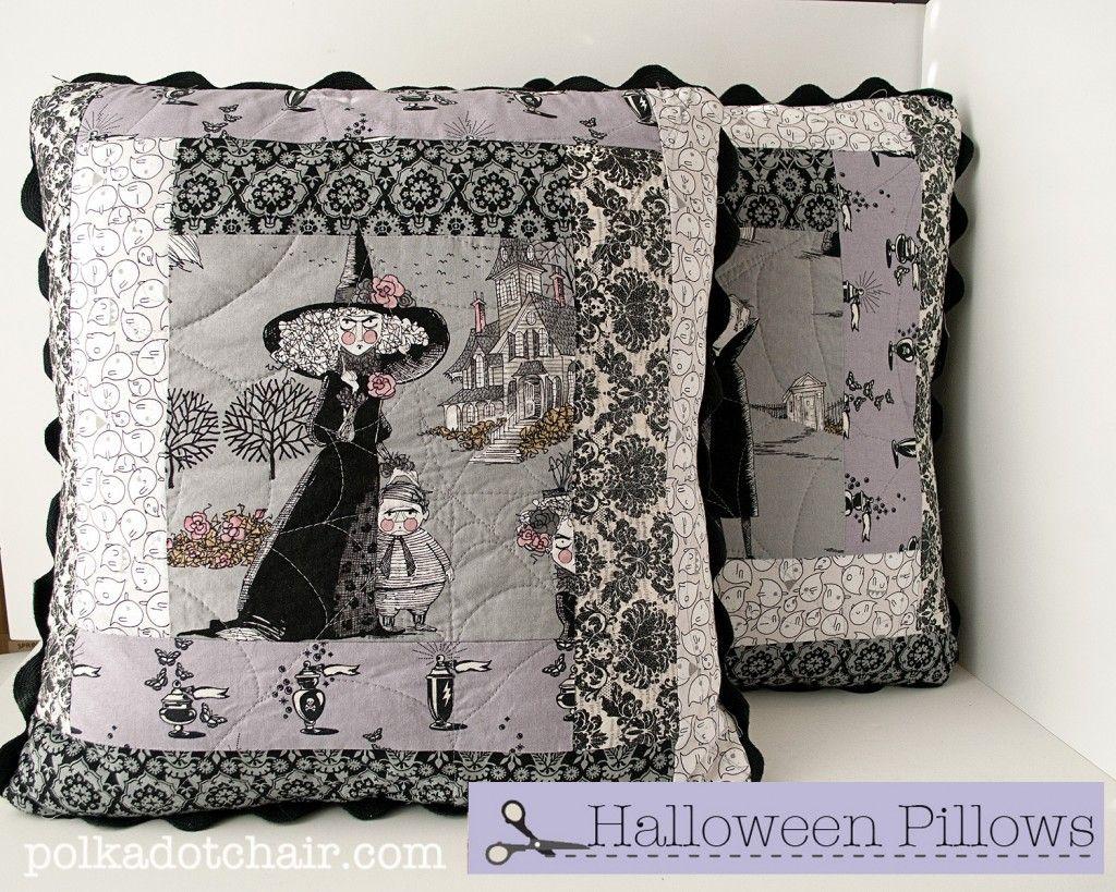 halloween pillows? or just great pillows?