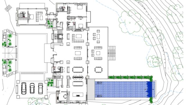 La Zagaleta Brand New Contemporary House Agent4stars Com Luxury House Plans Turkish Bath Multipurpose Room