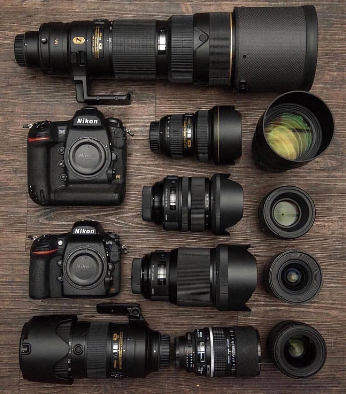 The D5 And D810 Incl Nikon 200 400 F 4 14 24 28 Sigma 85mm Ex Dg Hsm 135 18 70 58mm