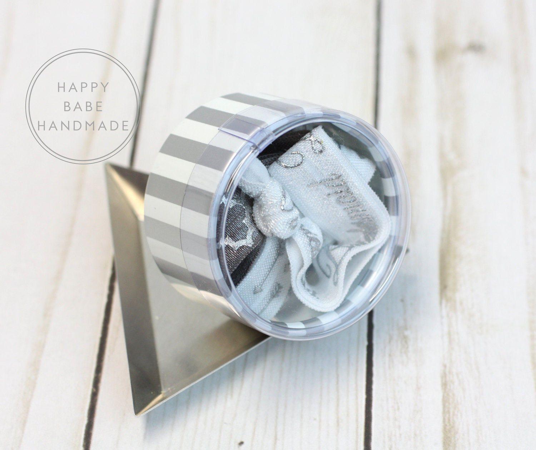 Wedding Hair Tie Favor, 5 Ties, Hair Tie Gift Box, Bridesmaid Gift ...