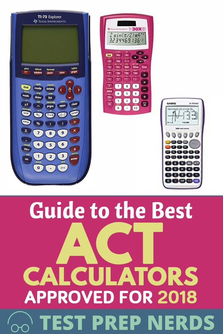 Guide to the Best ACT Calculators Approved for 2020 Act