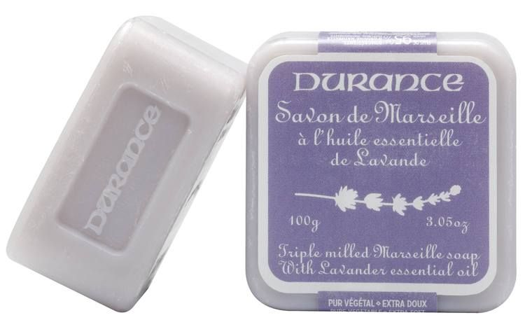 We love this Lavender Triple Milled Marseille Soap by Durance.