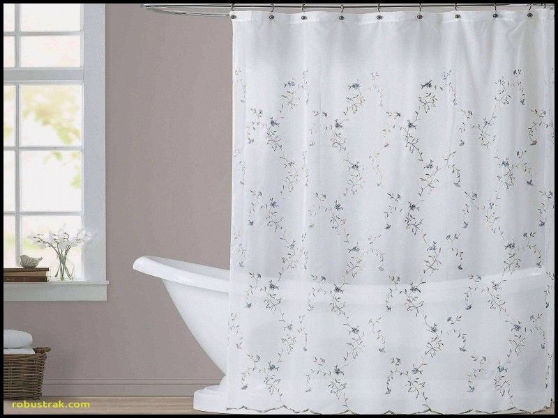 Elegant Blue Shower Curtain Hooks