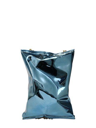 Crisps packet clutch   Anya Hindmarch