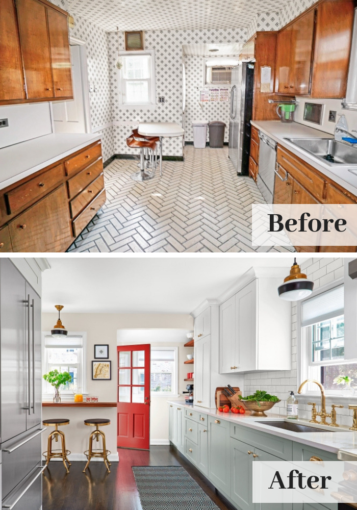 Kitchen Before And After A Quick Remodel Kitchen Remodel Small