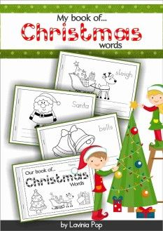 FREE Christmas Vocabulary Book