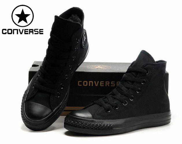 all black converse cheap