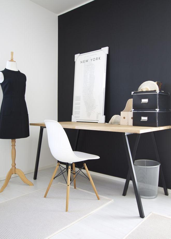 Benkeplate Bauhaus + IKEA Lerberg ben Escritorio