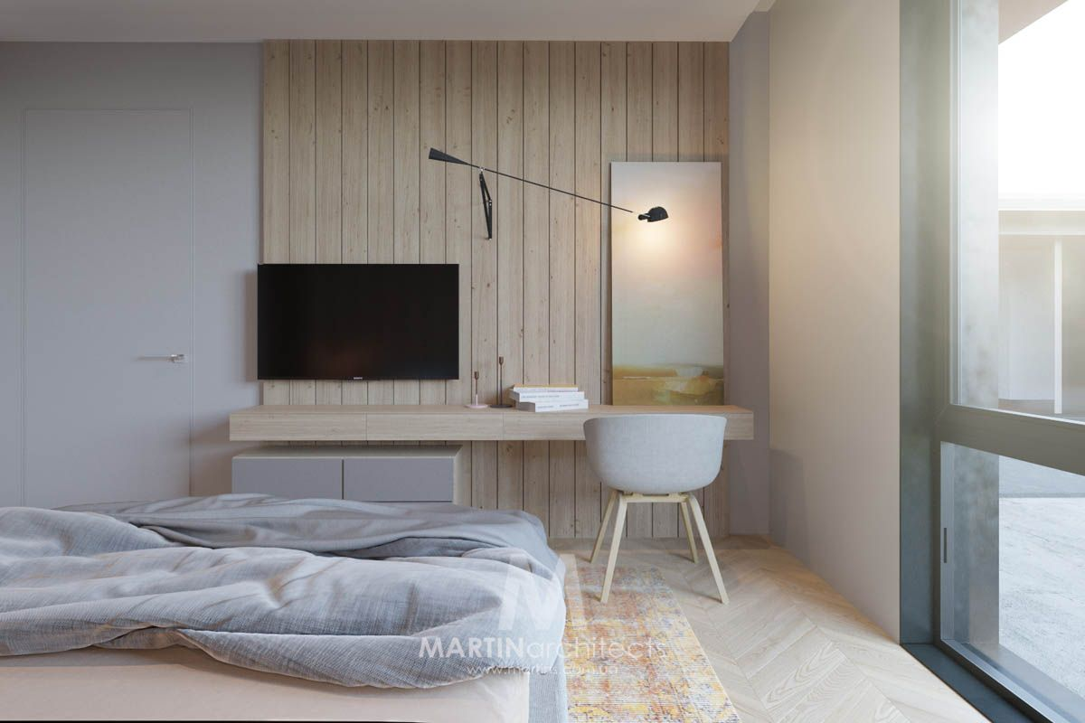 Cool Apartment with Contemporary Calming Color Scheme | Calming ...