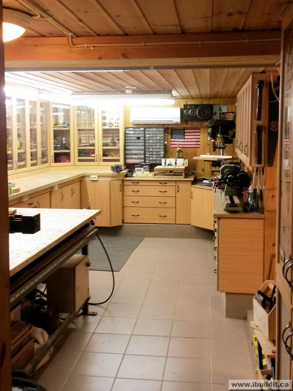 My workshop google search gunsmith tools pinterest for Small basement workshop ideas