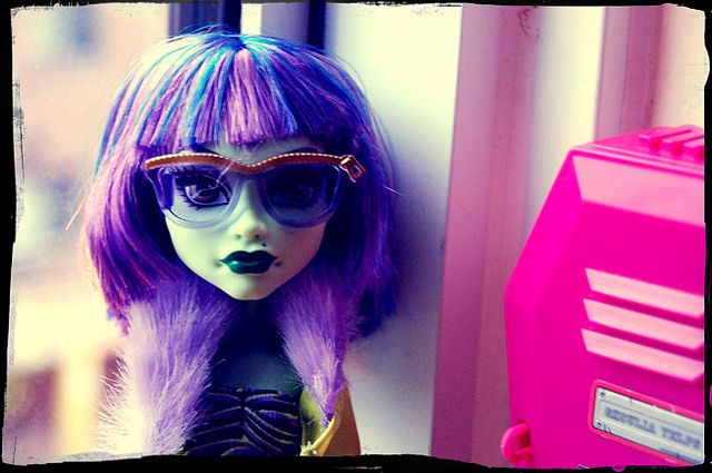 Monster High OC: Kamila Kindler by mhghouls, via Flickr