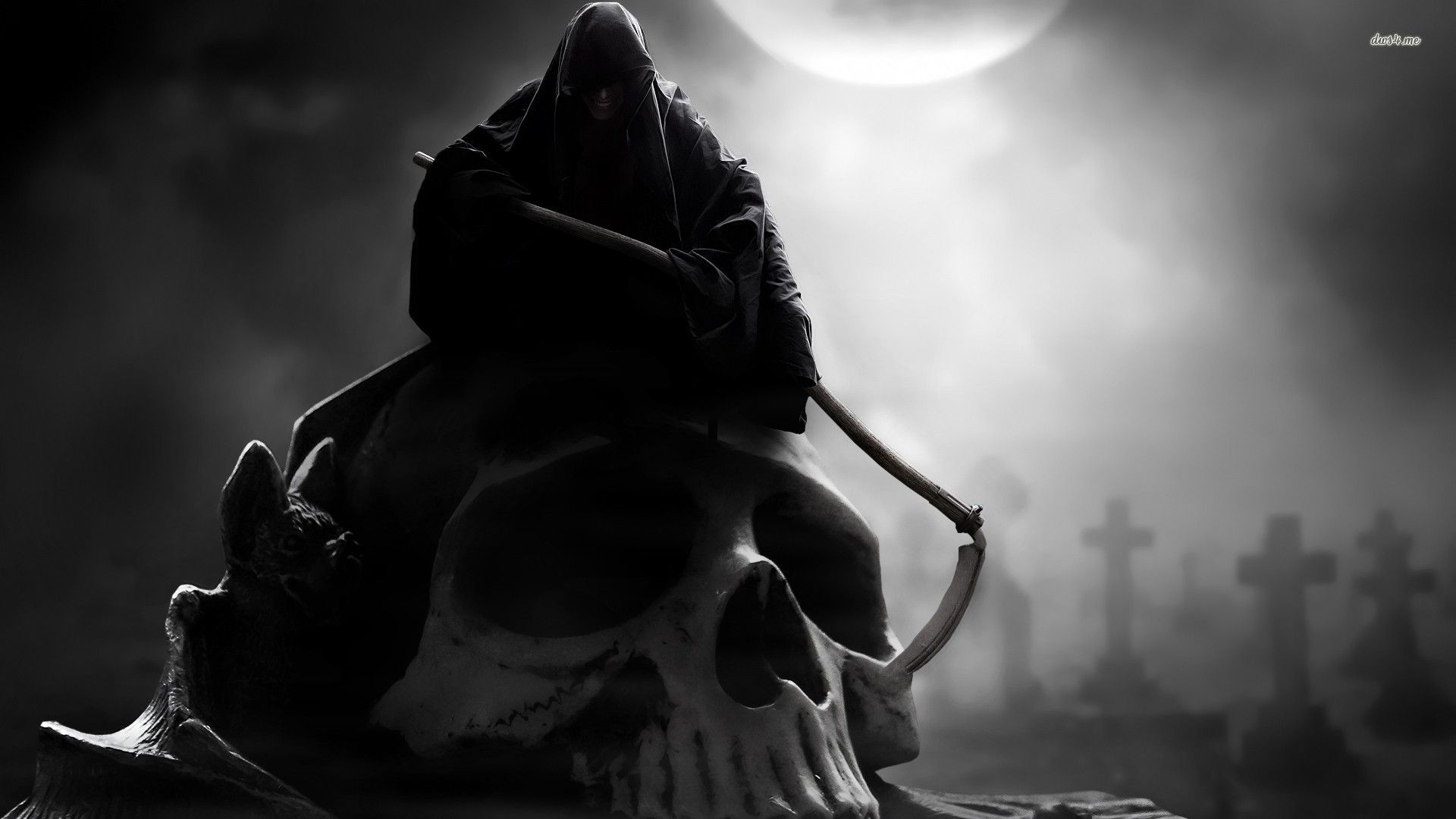 Grim Reaper Wallpapers Desktop Background For Desktop ...