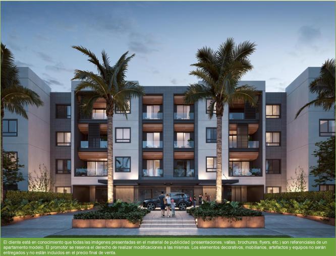 Proyecto de Apartamento de lujo en Village, Punta Cana
