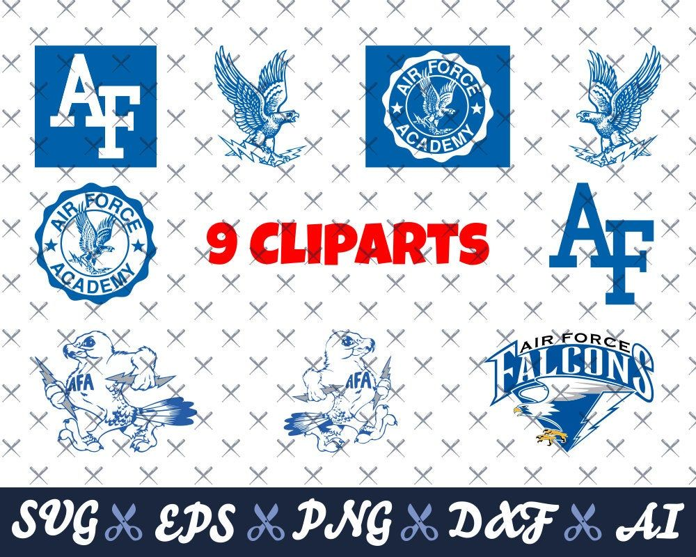 Download Air Force Falcons svg, 9 Clip arts, logos svg, College svg ...