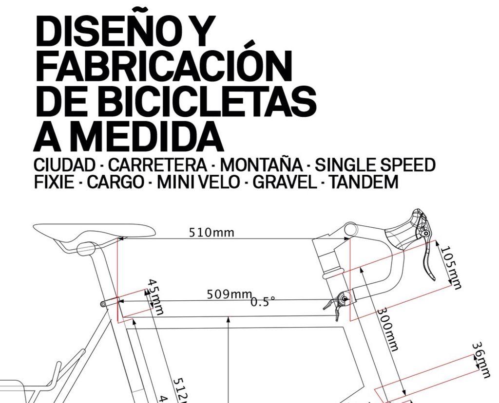 Diseño y fabricacion en Bicitaller Russafa
