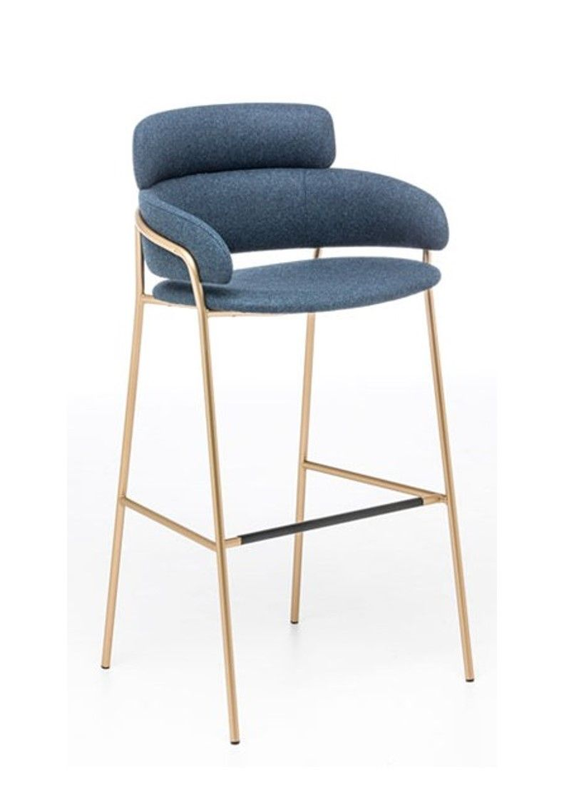 The Stunning Italian Designed Flame Bar Stool With Chrome Or Painted Steel Frame Is Available In