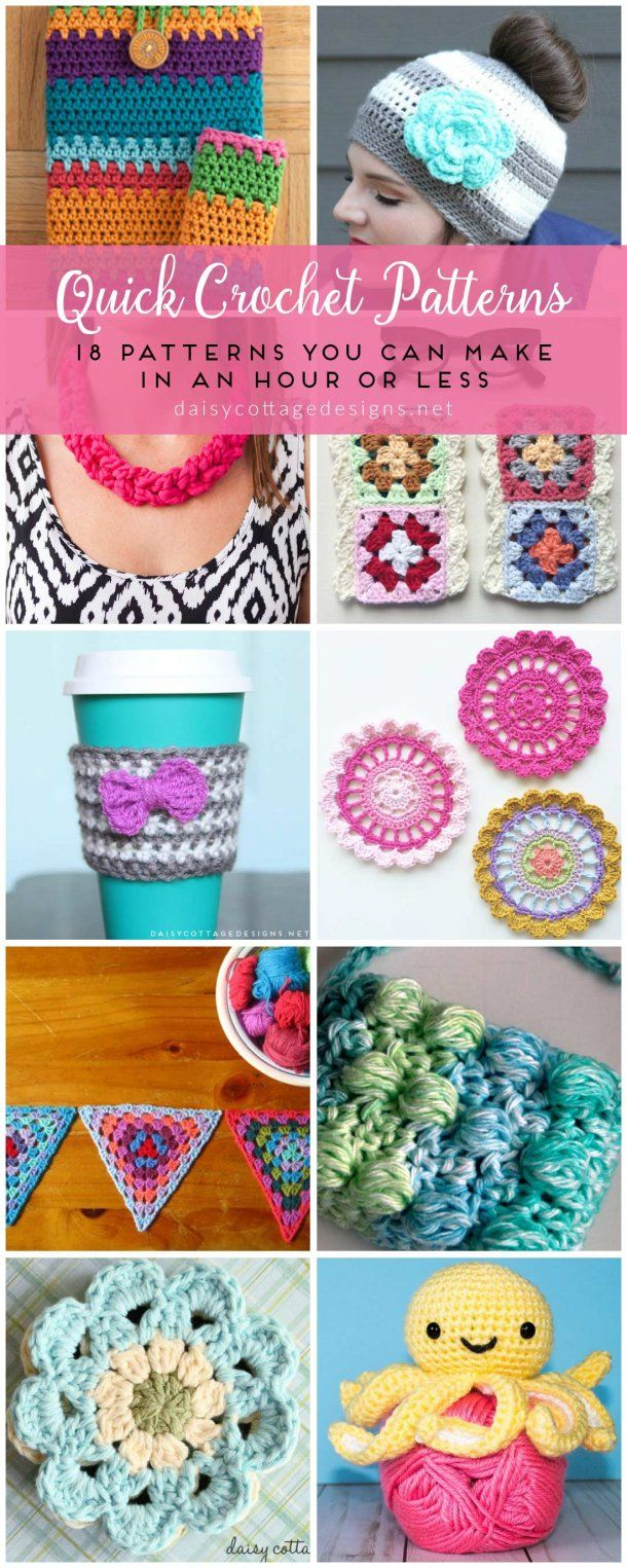 Easy Crochet Patterns - Free Crochet Patterns on images
