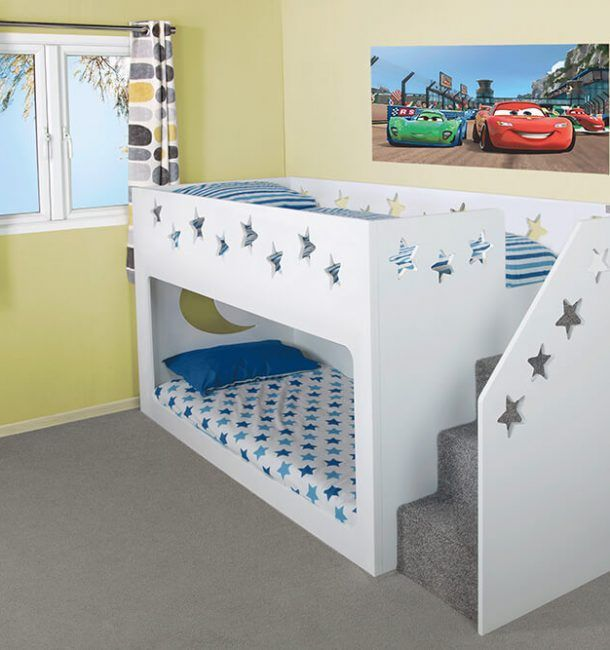 Shorty Bunk Bed | Deluxe Funtime Bunk Bed | Kids Funtime ...